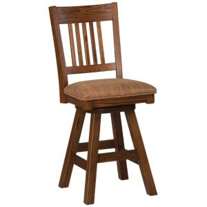 Santa Fe Side Barstool {Cloth Seat}