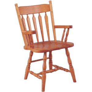 Plain Back Arm Chair