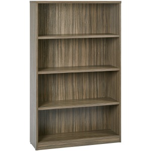 "4-Shelf Bookcase with 1"" Shelves"