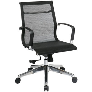Executive Mid-Back Mesh Screen Chair