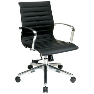 Mid-Back Eco Leather Chair