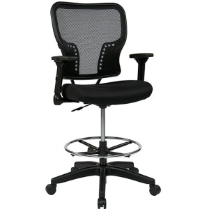 Deluxe AirGrid Back Chair with 4-Way Adjustable Flip Arms