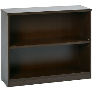 "2 Shelf Bookcase w/1"" Thick Shelves"
