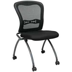 Deluxe Armless Folding Chair (2 pack)