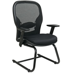 Breathable Mesh Back and Seat Visitors Chair