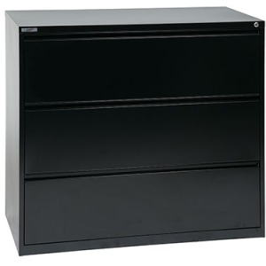 """42"""" Wide 3-Drawer Lateral File"""