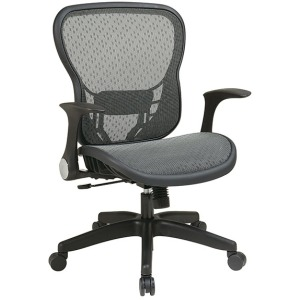 Deluxe R2 SpaceGrid Back and Seat with Flip Arms
