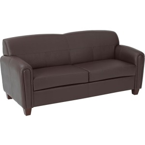 Pillar - Faux Leather Sofa