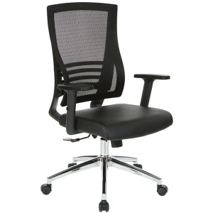 Black Breathable Mesh Back Chair