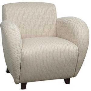 Custom Fabric Club Chair
