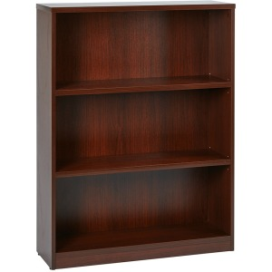 "3 Shelf Bookcase w/1"" Thick Shelves"