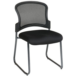 ProGrid Back Visitors Chair with Titanium Finish