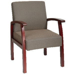 Deluxe Cherry Finish Guest Chair