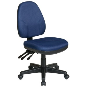 Dual Function Ergonomic Chair with Adjustable Back Height