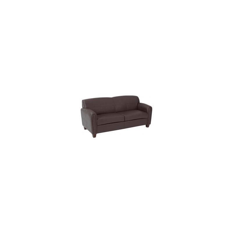 Pillar - Faux Leather Sofa