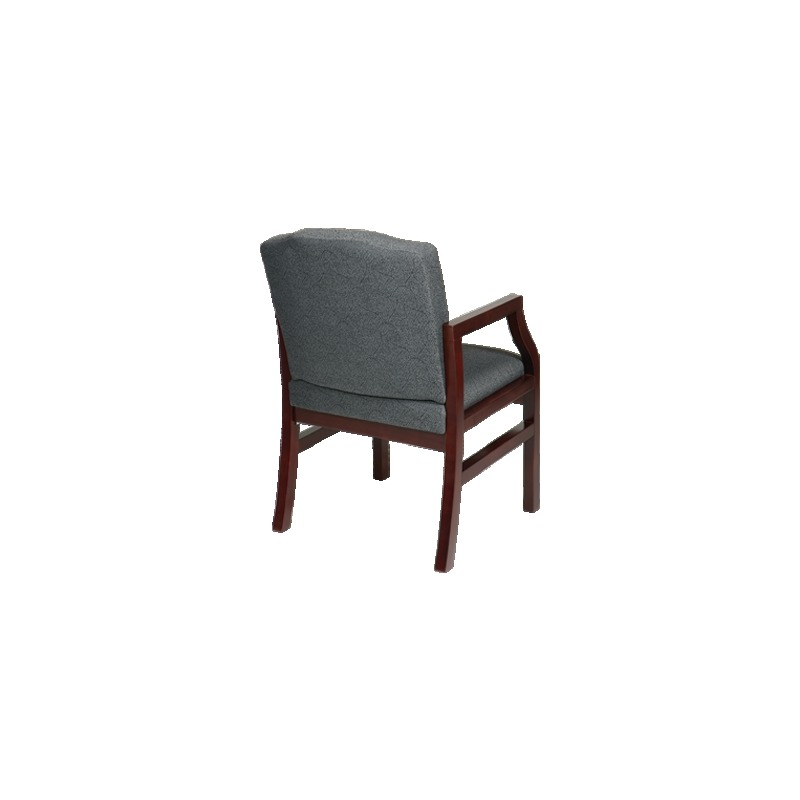 Mahogany Finish Modular Guest Chair