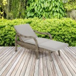 Danielle Outdoor Lounge Convertible to Chaise