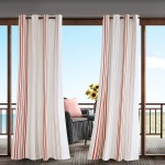 Newport Printed Stripe 3M Scotchgard Outdoor Panel