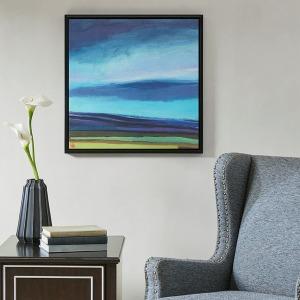 Evening Sky Gel Coat Framed Canvas
