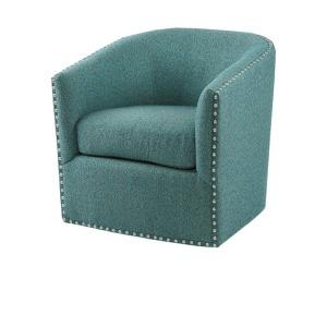Tyler Swivel Chair - Teal Multi