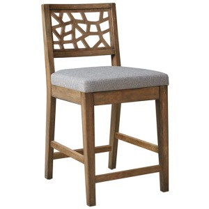 Crackle Counter Stool