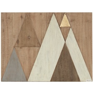 Ranger Wood Wall Decor - Natural