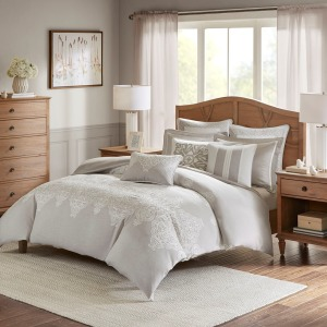Barely There Comforter Set -Queen