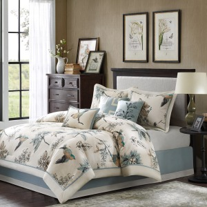 Quincy 7 Piece Comforter Set -Queen
