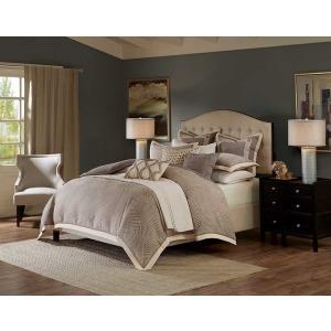 Shades of Grey King Comforter Set - Grey