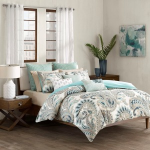 Mira 3 Piece 100% Cotton Comforter Set - King-Cal King