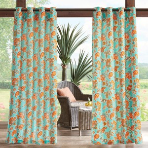 Carillo Printed Floral 3M Scotchgard Outdoor Panel