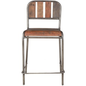 Renu Counter Stool with Backrest