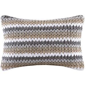 Stripe Woven Oblong Pillow