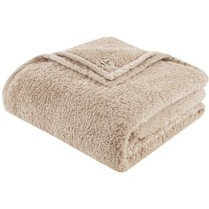 Burlington Full/Queen Berber Blanket - Tan