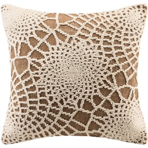 Madison Park Sunburst Cotton Knitted Pillow Cover