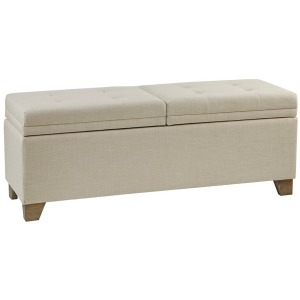 Ashcroft Storage Bench - Natural
