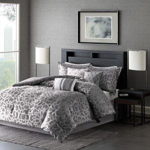 Carlow 6 Piece Duvet Cover Set - King/Cal King