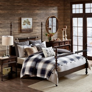 Urban Cabin Queen Cotton Jacquard Comforter Set
