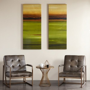 Almost Home II Gel Coat Printed Canvas 2 Piece Set