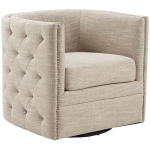 Capstone Swivel Chair - Cream
