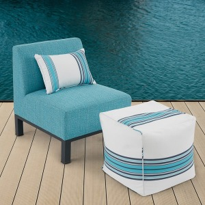 Aiden Outdoor Armless Lounge
