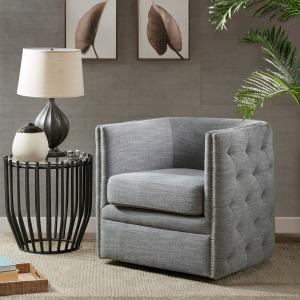 Capstone Swivel Chair - Slate