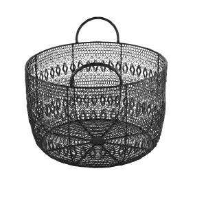 Floret Woven Metal Basket - Small