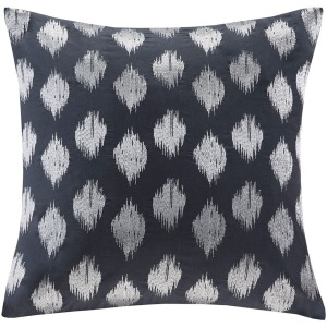 Nadia Dot Embroidered Square Pillow