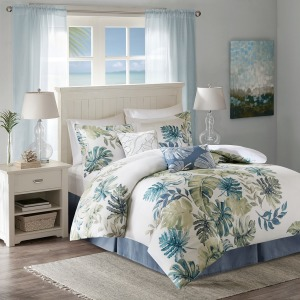Lorelai Cotton Printed 6 Piece Comforter Set -King