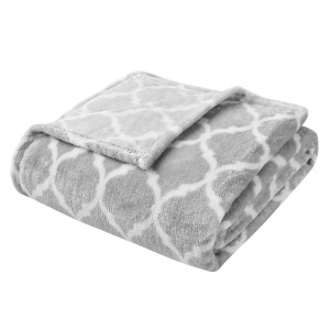 Oversized Ogee Throw - Grey
