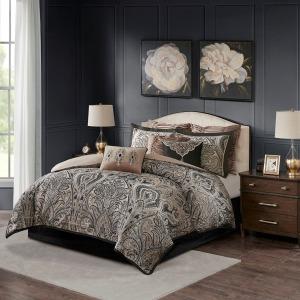 Grandover Jacquard Comforter Set - King