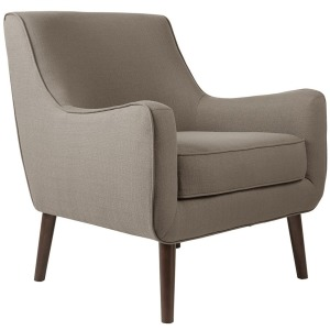 Oxford Mid-Century Accent Chair - Grey