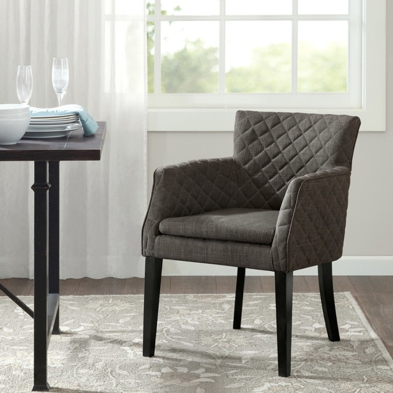 Madison Park Rochelle Quilted Dining Chair