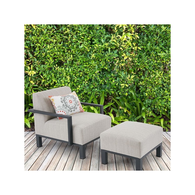 Dylan Outdoor Ottoman